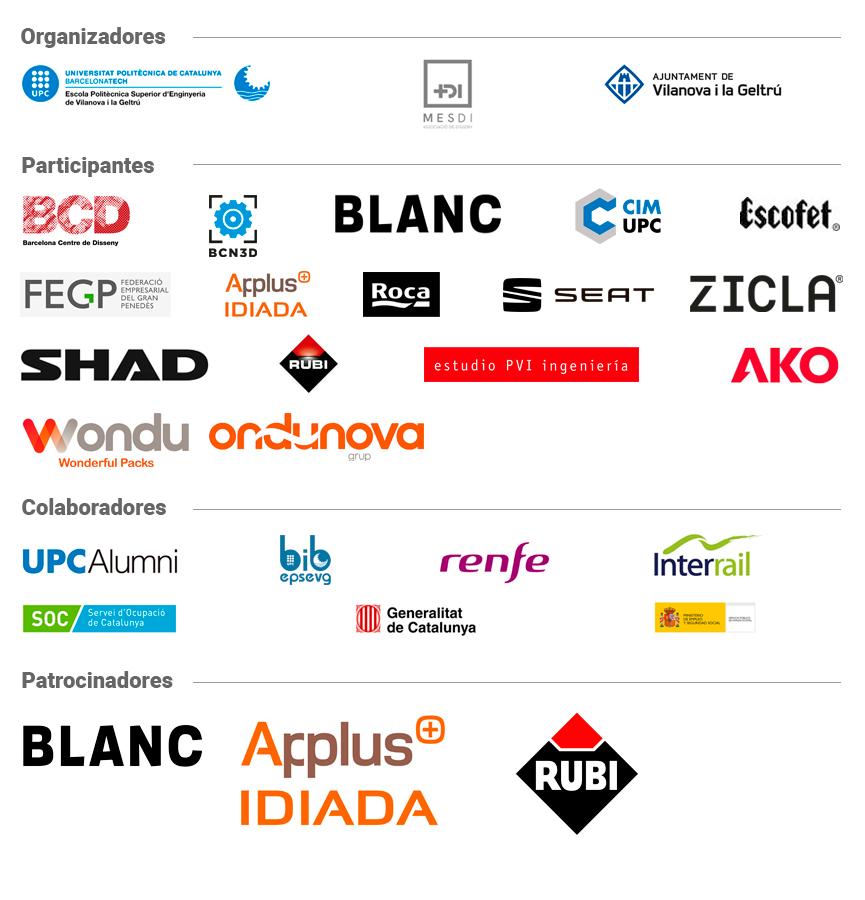 Logos de Organizadores y Colaboradores
